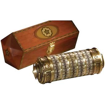 The Da Vinci Code Cryptex 1:1 Scale Prop Replica
