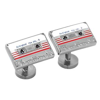 Guardians of the Galaxy Awesome Mix Tape No. 2 Cufflinks