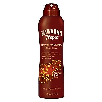 Hawaiian tropic royal tanning klart spray, trippel rik blanding, 6 oz