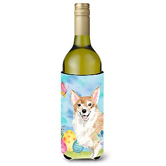 Botella de vino de Pascua Corgi Beverge aislante Hugger