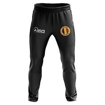 Pantalon d'entraînement de football De Roumanie concept (noir)