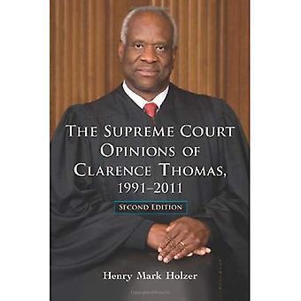 Høyesterett vurderingene av Clarence Thomas, 1991-2011