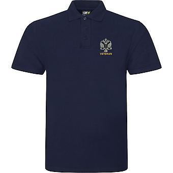 1. Queens Dragoon Guards veteran-licenseret British Army broderet RTX Polo