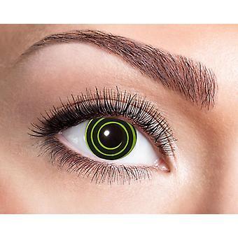 UV Kontaktlinse Schwarzlicht Spirale