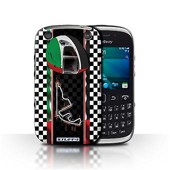 STUFF4 Case/Cover voor Blackberry Curve 9320/Abu Dhabi/Yas Marina/F1 Track vlag