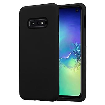 Cadorabo Case for Samsung Galaxy S10e Case Cover - Hybrid Phone Case with TPU Silicone Inside and 2-Piece Plastic Outside - Protective Case Hybrid Hardcase Back Case