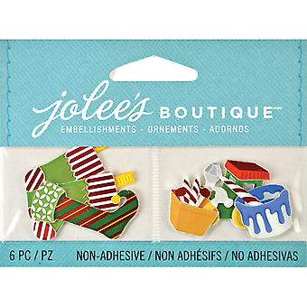 Jolee's Boutique Seasonal Embellishments Stockings And Toys E5000635