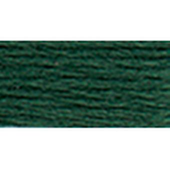 Dmc Tapestry & Embroidery Wool 8.8 Yards Darkest Green Gray 486 7429