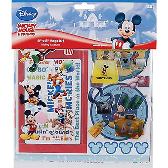 Mickey Mouse Page Kit 8 « X 8 » Dmpk5 vacances Disney