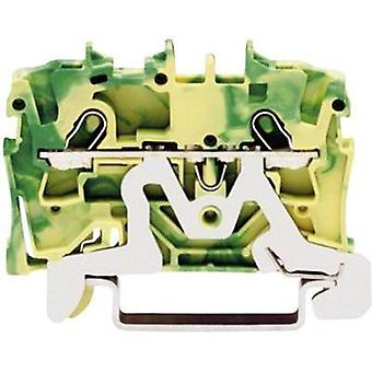 PG terminal 4.20 mm Pull spring Configuration: Terre Green-yellow WAGO 2001-1207 1 pc(s)