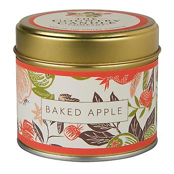 Fragrant Orchard Candle in a Tin - Baked Apple
