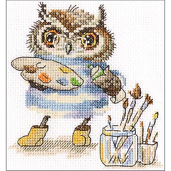 Magic Palette Counted Cross Stitch Kit-6