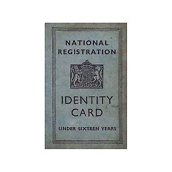 WW2 Replica Children's ID Card - Teaching Aid or Prop