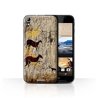 STUFF4 Case/Cover for HTC Desire 830/Animals/Brown/Cave Painting