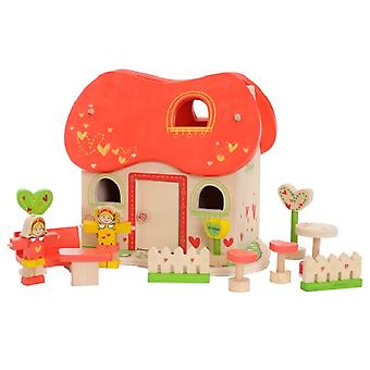 EverEarth Wood-tale house (Toys , Dolls And Accesories , Miniature Toys , Stages)