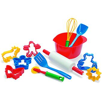 Dantoy Pastry Utensils - Red (Toys , Home And Professions , House , Kitchenware)