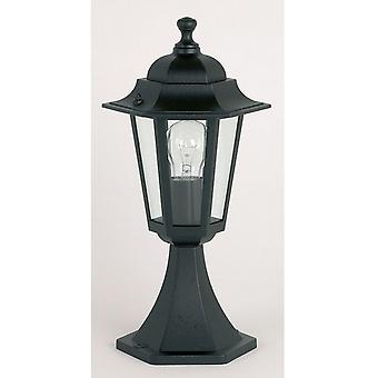 Endon YG-2002 Exterior Post Lamp In Black