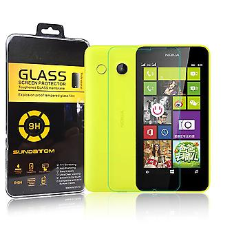 Nokia Lumia 630 / 635 Displayschutzfolie 9H Verbundglas Panzerglas Tempered Glass