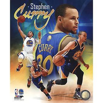 Stephen Curry 2014 Portrait Plus Photo sportive