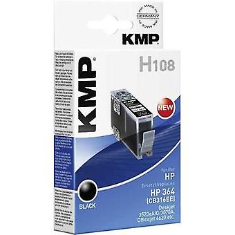 KMP Ink replaced HP 364 Compatible Black H108 1712,8001