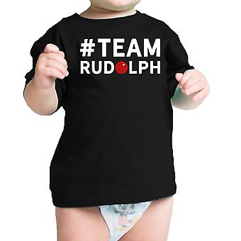 #Team Rudolph Baby T-shirt Christmas Infant Tee Holiday Gifts