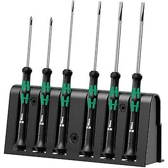 Electrical & precision engineering Screwdriver set 6-piece Wera 2035/6A Slot, Phillips