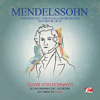 Felix Mendelssohn - Mendelssohn: Concerto No 1 for Piano & Orchestra USA import