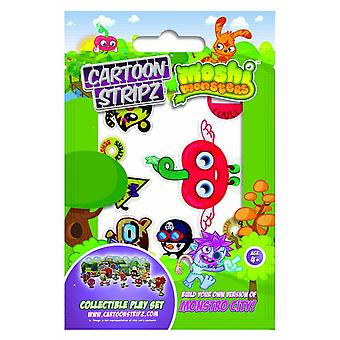 CARTOON STRIPZ | MOSHI MONSTERS | Large Cartoon Strips | Ideal Party Bag Item