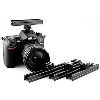 Kiwifotos 15cm Cold Shoe Extension Bar for Canon, Nikon, Olympus, Pentax, Samsung (D)SLR cameras (not Sony/Minolta)