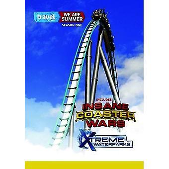 Vi har sommer: Sindssyg Coaster Wars & Xtreme [DVD] USA import