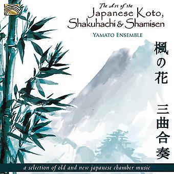 Yamato Ensemble - konst av japanska Koto [CD] USA import