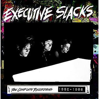 Executive Slacks - The Complete Recordings 1982-1986 [CD] USA import