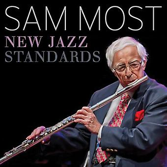 Sam Most - nye Jazz standarder [CD] USA import