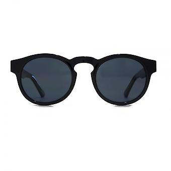 Levis Keyhole Round Sunglasses In Black Polarised