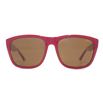 Levis Square Sunglasses In Red Polarised