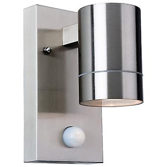 Firstlight Modern Stainless Steel Bathroom Cylinder Sensor Up/Down Wall Light