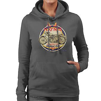 Haynes Brand Richfield BSA Motor Oil Women's Hooded Sweatshirt