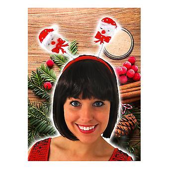 Seasonal items  Christmas diadem with snowmen