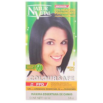 Naturaleza y Vida Coloursafe Permanent Dye # 1 Black 150 ml