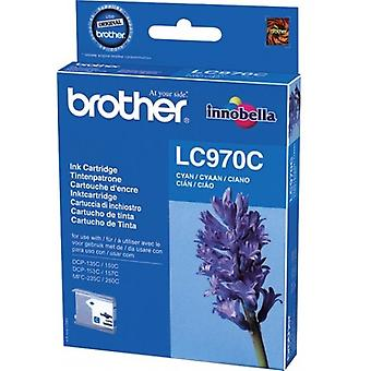 Brother LC - 970c toner cartridge cyaan (300 pagina's)