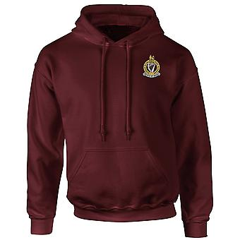 The Queens Royal Irish Hussars Embroidered Logo - Official British Army Hoodie Hooded Sweatshirt