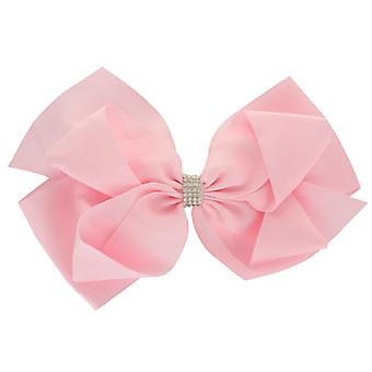 Girls Boutique Big Double Fashion Hair Bow Diamante Band Dance School Accessory
