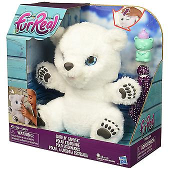 FurReal Friends Sawyer Polar Bear knuffel Snifflin