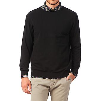 Jack and Jones PRM Crew Neck Jumper Black