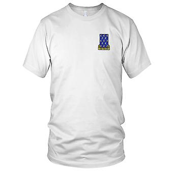 US Army - 485th Infantry Regiment Embroidered Patch - Mens T Shirt