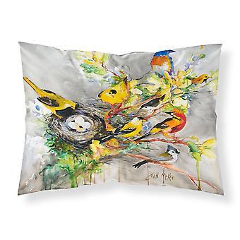 キャロラインズ宝物 JMK1024PILLOWCASE 春鳥ファブリック標準的な枕