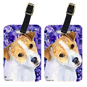 Carolines Treasures  SS8740BT Pair of 2 Jack Russell Terrier Luggage Tags