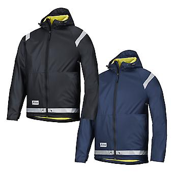 Snickers Lightweight Rain Jacket with 3M Relective strips. Waterproof - 8200