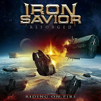 Iron Savior - Reforged - Riding on Fire [CD] USA import