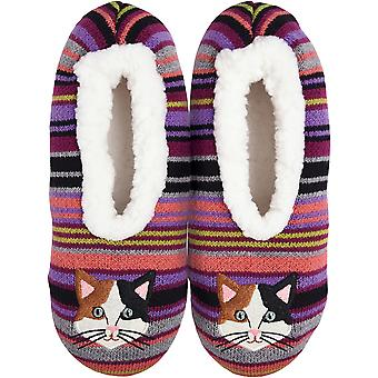 Novelty Slippers-Cat - Small/Medium KBWFS-48SM